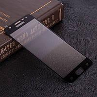 Защитное стекло 3D для Samsung J7 Prime SM-G610 черное