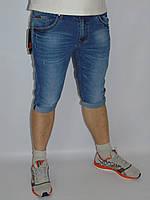 Шорты джинсовые LS молодёжные  с  подворотом летние