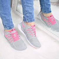 Кроссовки женские Nike Free run 5.0 серые , спортивная обувь