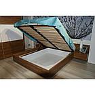 Кровать ZEFIR 76 160x200 Szynaka орех san diego/белый глянец, фото 4