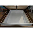 Кровать ZEFIR 76 160x200 Szynaka орех san diego/белый глянец, фото 5