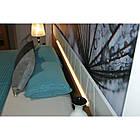 Кровать ZEFIR 76 160x200 Szynaka орех san diego/белый глянец, фото 7