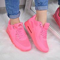 Кроссовки женские Nike Air Max розовые, спортивная обувь