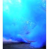 Синий дым DUPLEX, цветной дым для фотосессий, факел дымовой синий