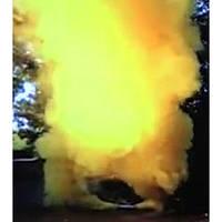 Желтый дым DUPLEX, факел дымовой для фотосессий, желтый дуплекс