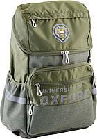 Рюкзак підлітковий OX 284, зелений, 554002 30*45*18.5