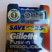 Gillette Fusion ProGlide кассеты для бритья (4 шт.) (Жиллет Фьюжин Проглайд)