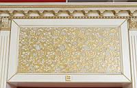 кухни белые с патиной золото фото 64