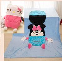 """Одеяло - Подушка, Игрушка """"Китти"""" большое, 110*165см"""