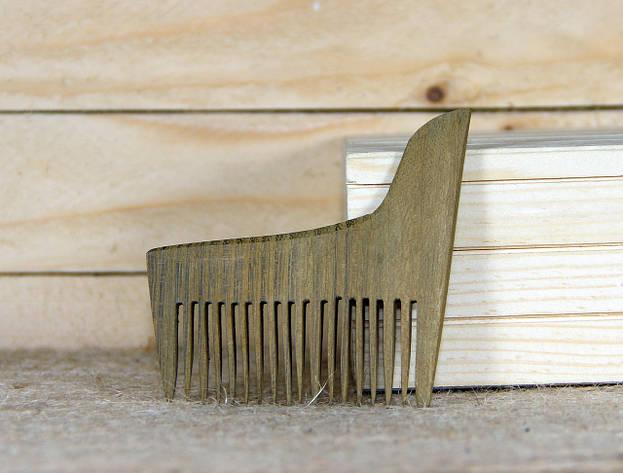 """Деревянный гребешок для бороды """"БрадВей"""" (264005), фото 2"""