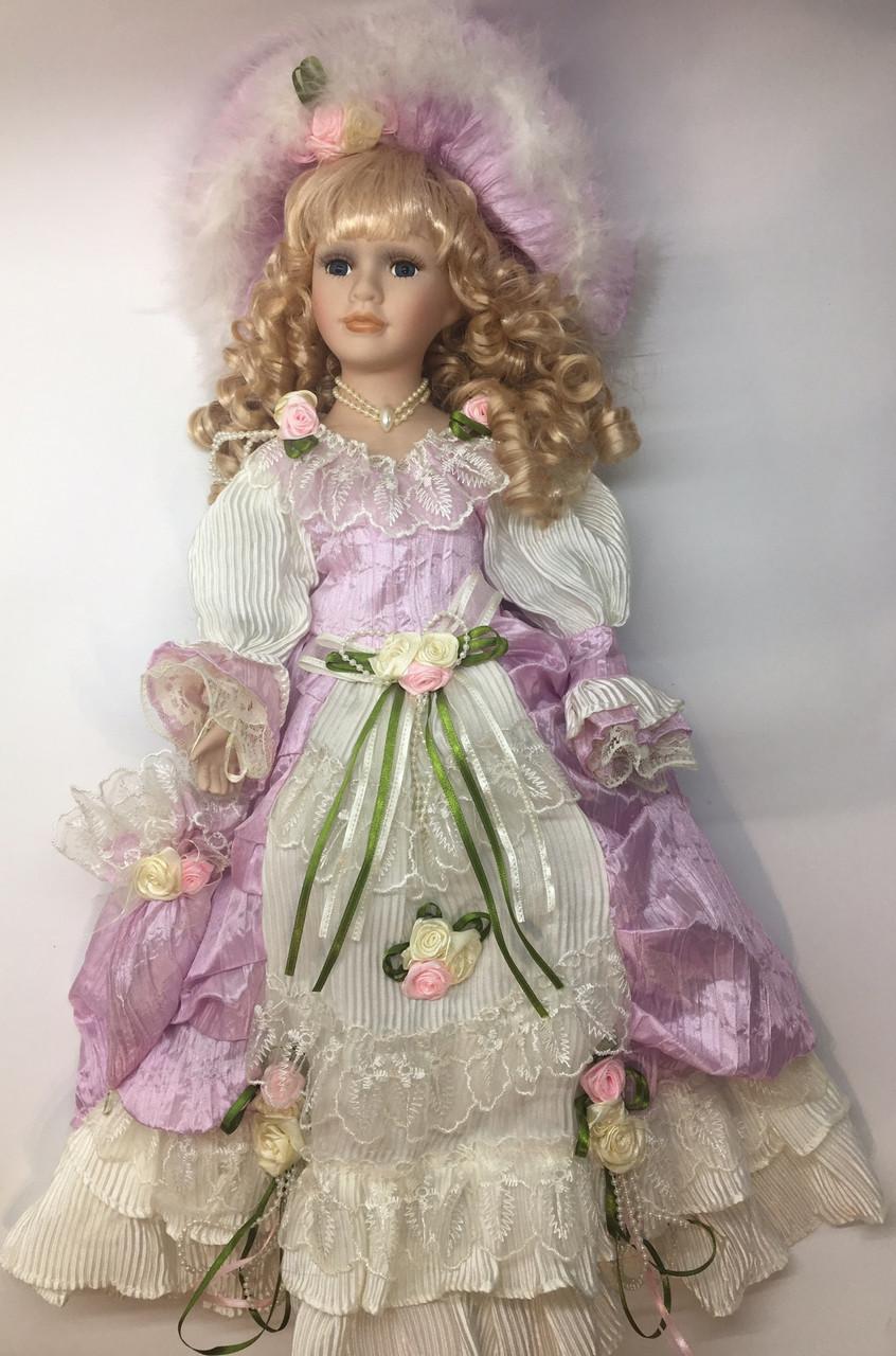 """Фарфоровая кукла коллекционная, сувенирная,  50 см """" Elizabeth """""""