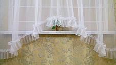 Тюль-арка для кухонного окна , фото 2