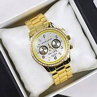 Часы женские наручные MK New York золото, магазин наручных часов