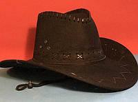 Карнавальная Ковбойская Шляпа Головной Убор Ковбой для Вечеринки