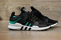 Кроссовки мужские Adidas EQT SUPPORT ADV 30375 зелено-черные