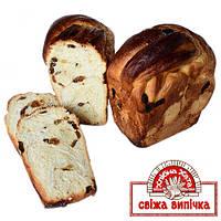 Хлебец сладкий с изюмом и корицей