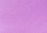 Бумага гофрированная 1 Вересня 110% светло-сиреневая