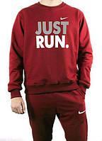4a1bc272dad0 699 грн. Оптовые цены. В наличии. Спортивный костюм мужской Nike Just Run  бордовый