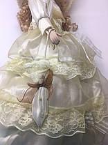 """Кукла сувенирная, подарочная фарфоровая, коллекционная 50 см """" Каролина """", фото 3"""