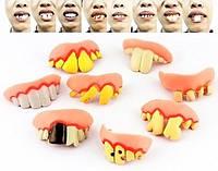 Вставные Ужасные Зубы Halloween Horror Teeth Прикол для Вечеринки Маскарад