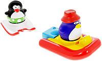 """Игрушка для ванны """"Пингвинчики на водных лыжах"""", Water Fun"""
