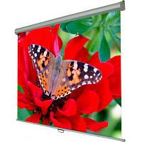"""Экран настенный Walfix SNM-3, диагональ: 100"""", габариты: 200х150 см, с механизмом обратного скручива"""