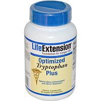 Life Extension, Оптимизированный триптофан-плюс, 90 капсул на растительной основе