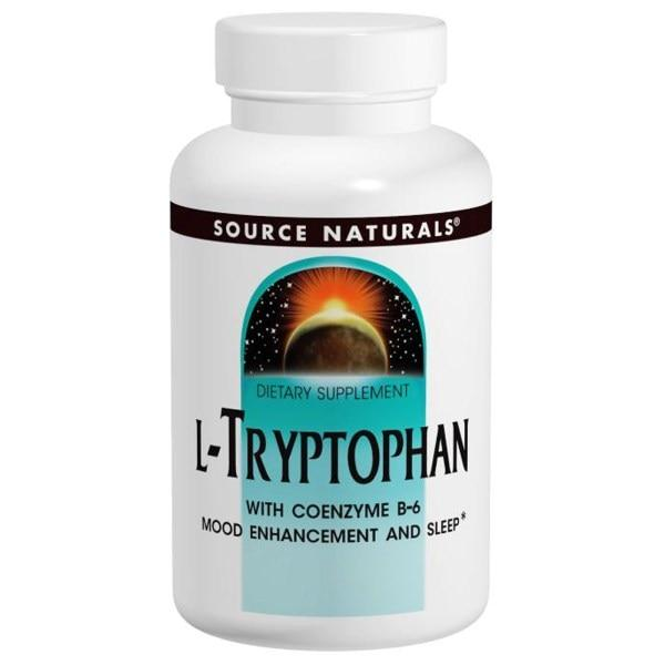 Source Naturals, L-триптофан, 1,77 унции (50 г)