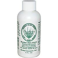 Herbal Answers, Inc, Растительная сила алое, 4 жидких унции