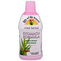 Lily of the Desert, Формула для желудка с натуральным алоэ, мятный вкус, 32 жидких унции (946 мл)