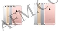 Задняя крышка корпус iPhone 6S Plus серебреная