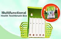 Органайзер  для Ванной Комнаты Многофункциональный Набор для Щеток Пасты Косметики   Health Toothbrush Box