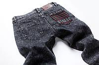 Штаны джинсовые мужские в этно-стиле