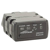 OBD2 адаптер KONNWEI KW902 ELM327 V1.5 Bluetooth сканер тестер Torque давление обороты ошибки двигателя сервис