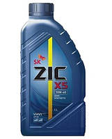 Моторное масло ZIC X5 10W-40 1л.(Ю.Корея).