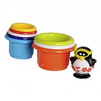 """Игрушка для ванны """"Пингвин-спасатель на башне"""", Water Fun"""