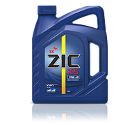 Моторное масло ZIC X5 10W - 40 4л.(Ю.Корея).