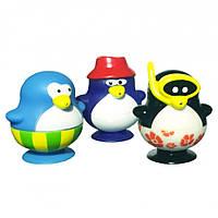 """Игрушка для ванны """"Забавные пингвинчики, набор № 2"""" 3 шт, Water Fun"""