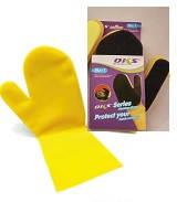 Рукавица силиконовая с губкой-скребком - комфортная и быстрая уборка! Губка - уже с перчаткой!