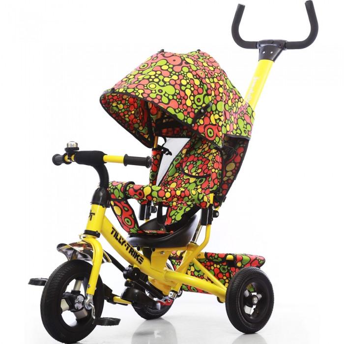 Велосипед трехколесный TILLY Trike T-351-4 yellow