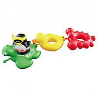 """Игрушка для ванны """"Веселые друзья"""" пингвин, черепаха, утка, краб, Water Fun"""
