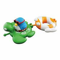 """Игрушка для ванны """"Веселые друзья"""" пингвин, черепаха, рыбка, Water Fun"""