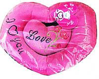 Подушка Мягкая Говорящее Сердечко Подарок на День Влюбленных