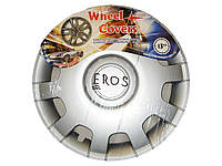 Колпаки R14 Eros серые Украина (Ivokorplast)