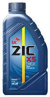 Моторное масло ZIC X5 15W - 40 1л.(Ю.Корея).