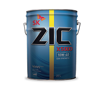 Моторное масло ZIC X5 10W - 40 DIESEL 20л.(Ю.Корея).