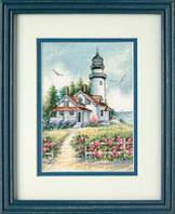 Набор для вышивки крестом Живописный маяк