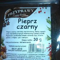 Перец черный горошком 30 г. Польша