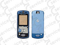 Корпус Motorola L7, голубой