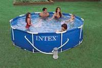 Каркасный бассейн (305 х 76) Intex 28202 (насос-фильтр)
